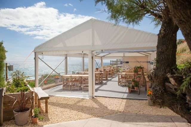 Hive Beach cafe, Dorset