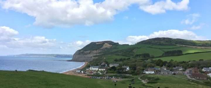 The anchor Inn and Golden Cap, Dorset