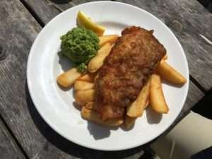 Fish and Chips at the Anchor Inn