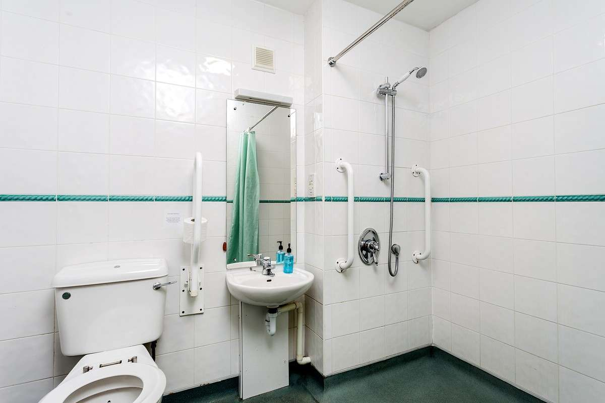 wetroom suitable for disabled