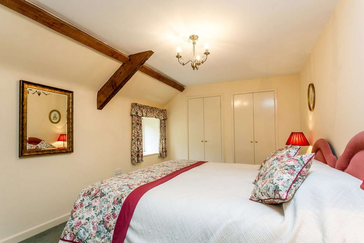 Bedroom in Dorset self catering cottage