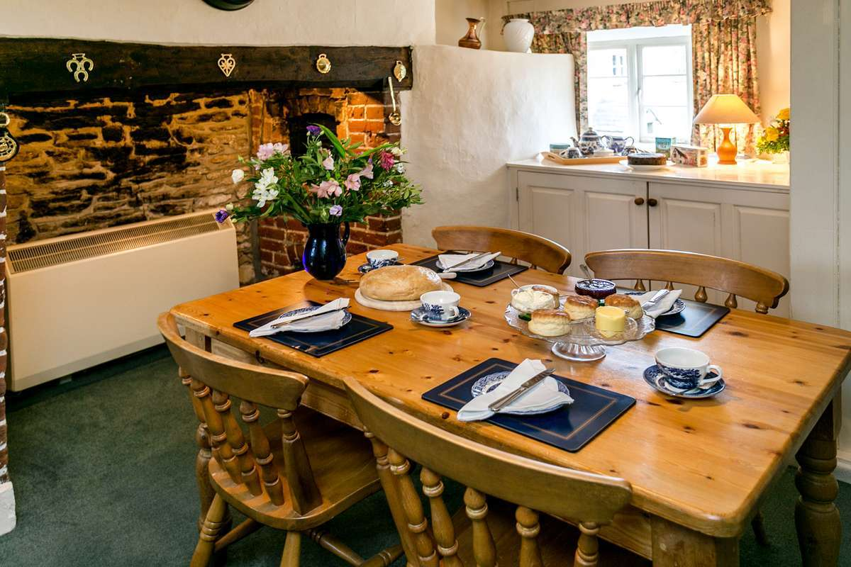 Self catering kitchen in Dorset