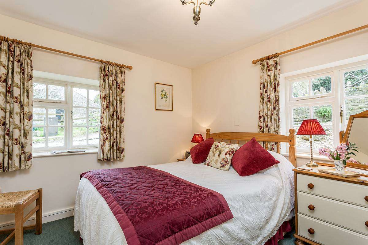 Cottage bedroom near Weymouth